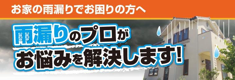 雨漏り診断|雨漏りのプロがお悩み解決!!